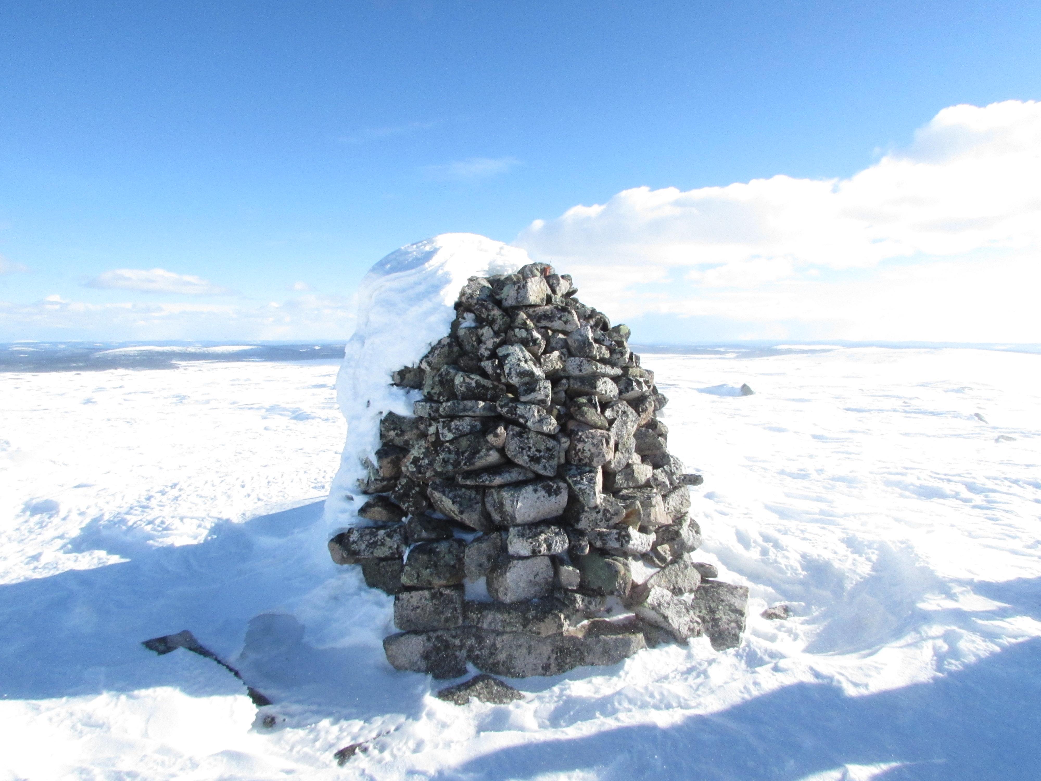 Utsikt från Avvakko tunturi VSFF ledrek